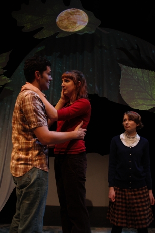 """Warren Macaulay, Alexa Higgins and Amelia Hay in """"Angel's River"""", 2015 Summer Mainstage by Andrea Boyd (photo: Mike Johnston)"""