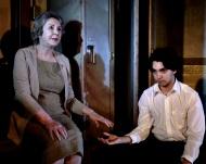 "Elva Mai Hoover and Lucas Gutiérrez-Robert in ""Gut-Lovely Sounds of Destruction"" 2013 Mainstage Co-Production written by Bruce Allen Lynch (photo: Mike Johnston)"