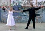 "Marissa Robinson and Devin Luke in ""Happy City"" 2002 Mainstage by Len Falkenstein (photo: Stephen Moss)"