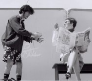 "Seann Alexander Murray and Rebecca Tremblay in ""Clover"" 2004 Street Theatre by Stephanie Yorke (photo: Siobhan Wiggans)"